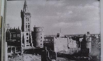 Click image for larger version  Name:1947 - views of the Royal Castle and the area Gezekhus.jpg Views:64 Size:96.6 KB ID:501